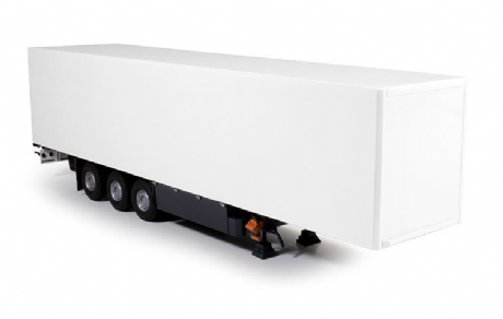 Tekno 3 axle Box Semi trailer